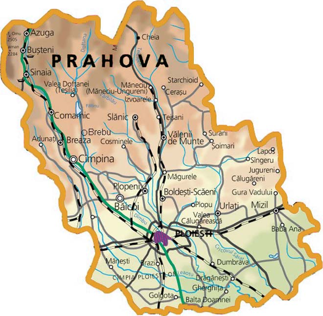 Foraje puturi pentru apa judetul Prahova