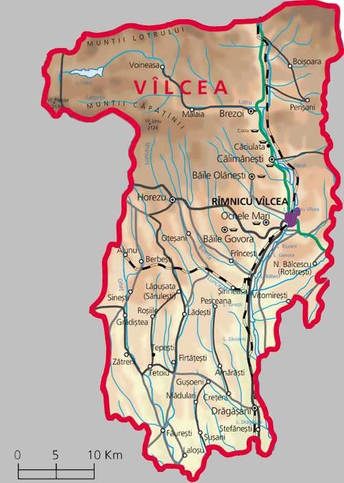 Foraje puturi pentru apa judetul Valcea
