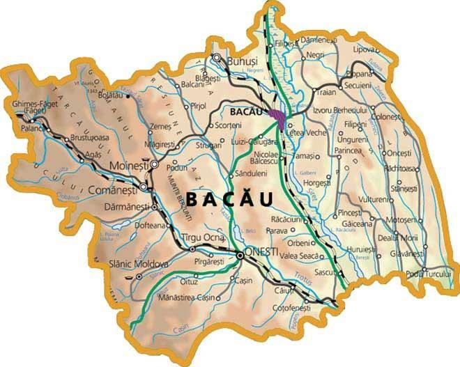 Foraje puturi pentru apa judetul Bacau